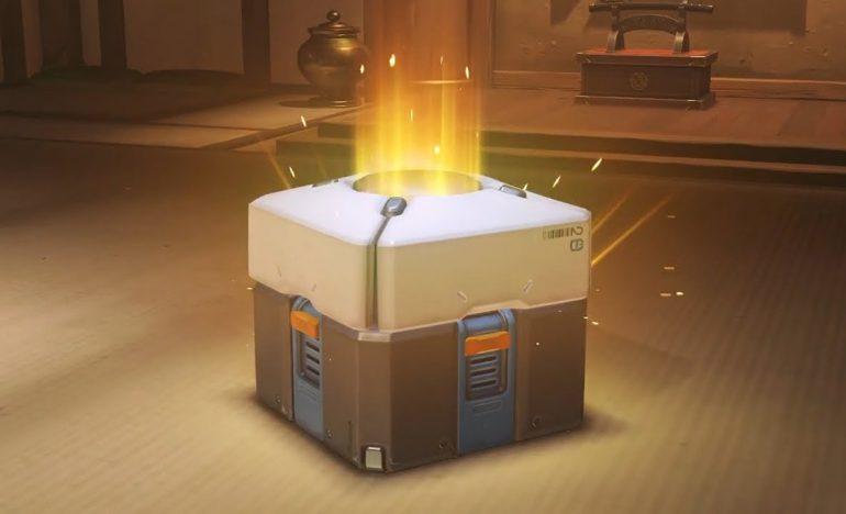 Caja de botín de Overwatch